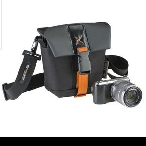 NEW DSLR Small Holster Camera Bag Case Organizer